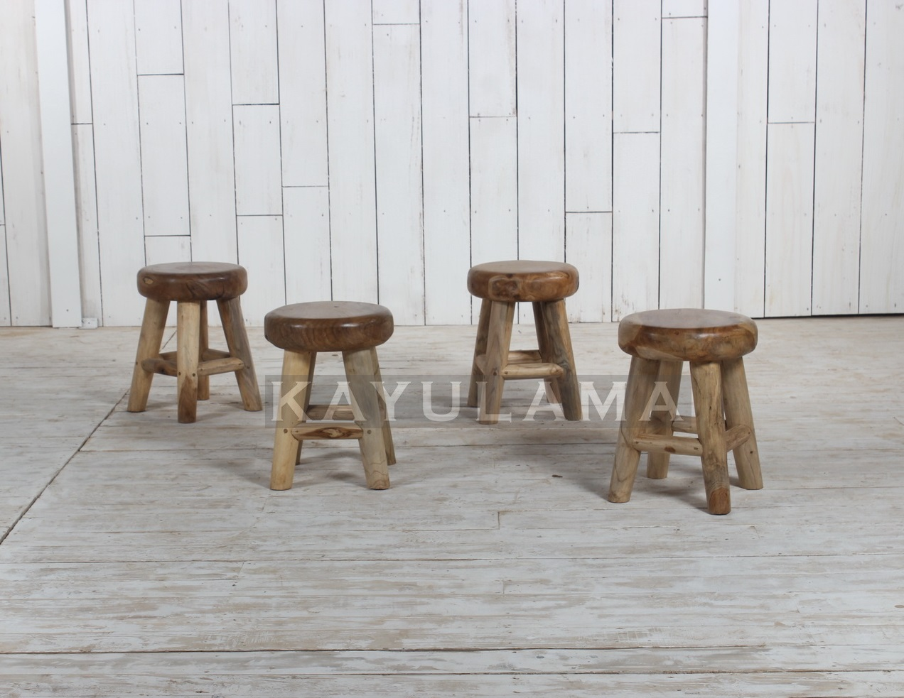 Bar Table And Stools Teak Root Furniture 187 Round Wooden