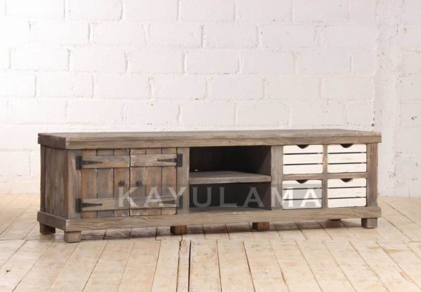 Reclaimed Wood Furniture TV Cabinet