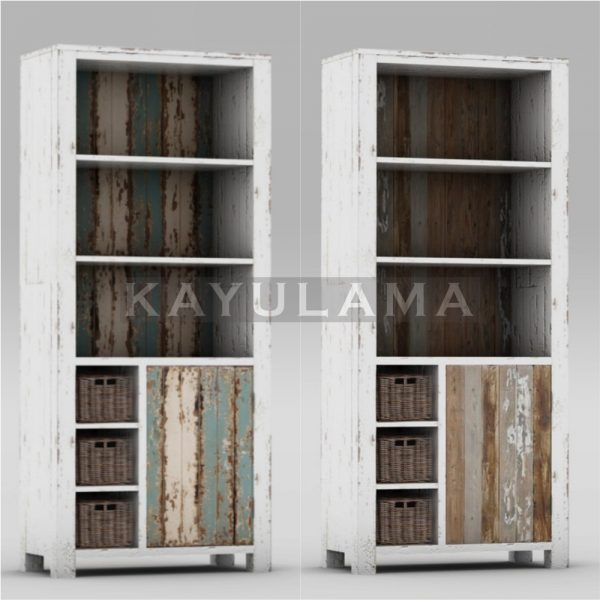 Rustic Reclaimed Pine Cabinet
