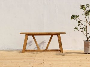 Dankee Teak Outdoor Console Table