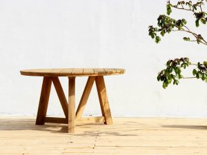 Dankee Teak Outdoor Round Table