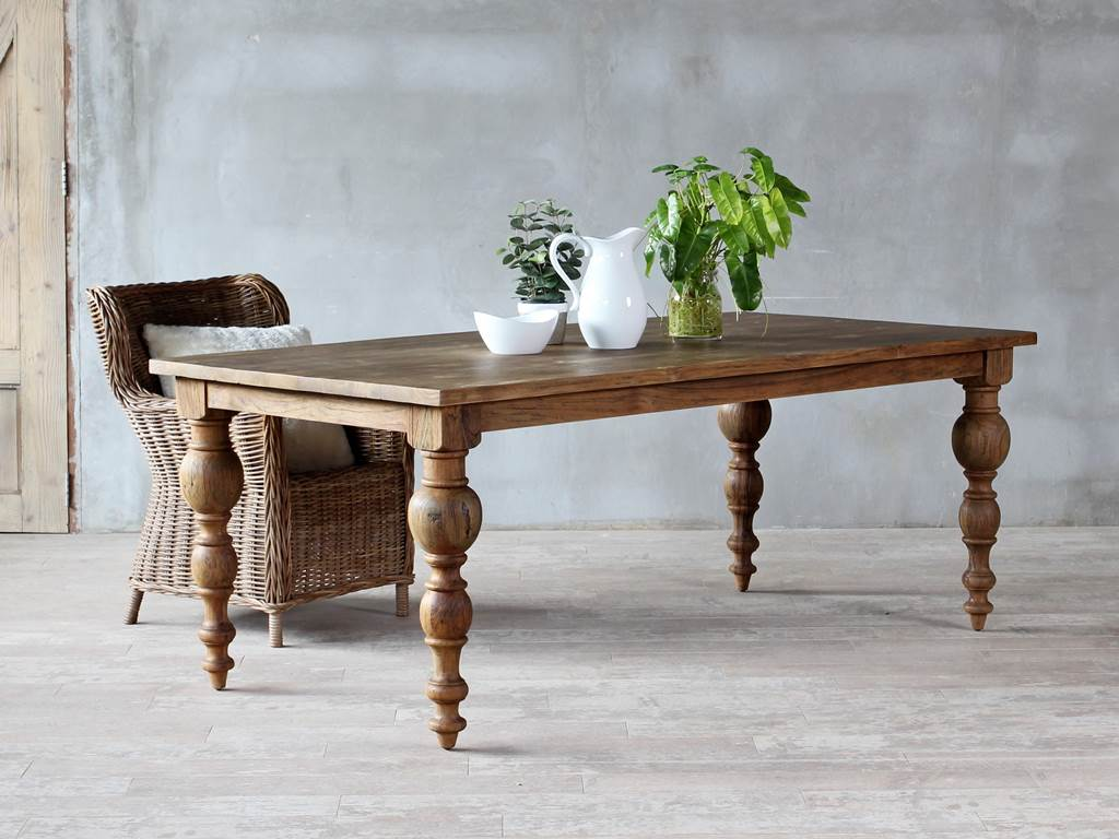 Rome Dining-Table-Blackwashwed