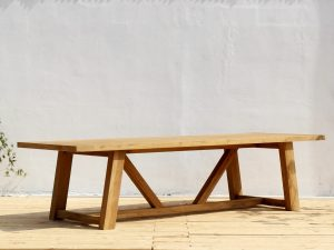 Custom Teak Outdoor Dining Table